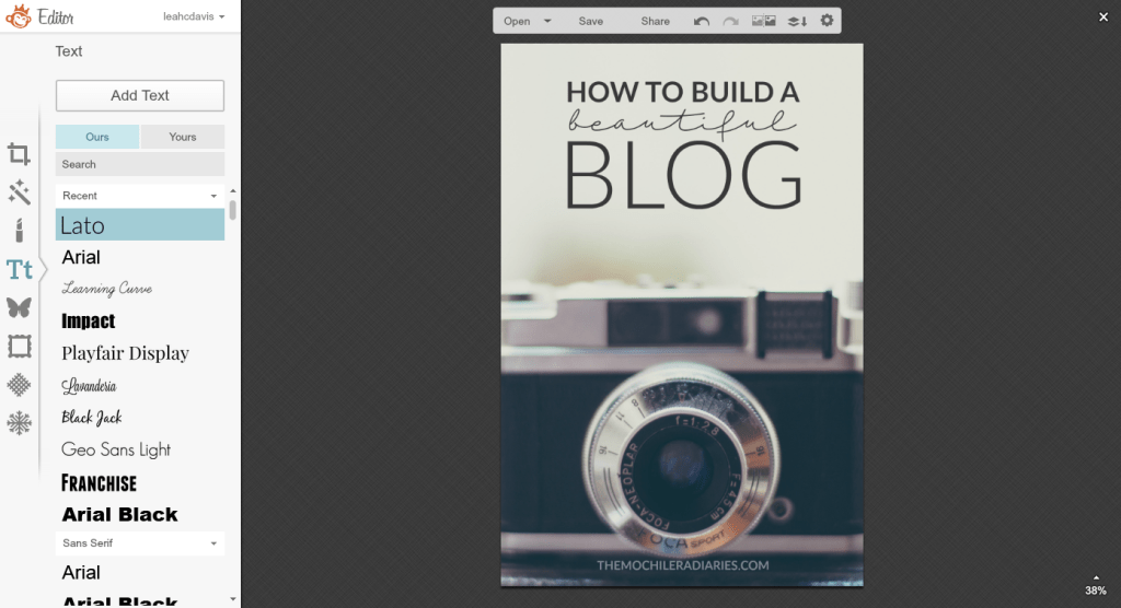 PicMonkey for Designing and Photo Editing | Build a Beautiful Blog