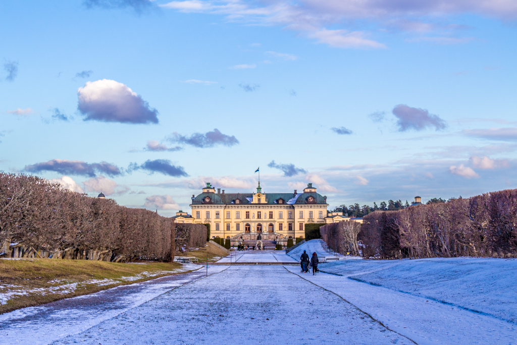 Sweden in Winter: Drottningholm Palace