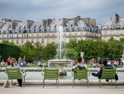 What to do with four days in Paris. Jardin des Tuileries.