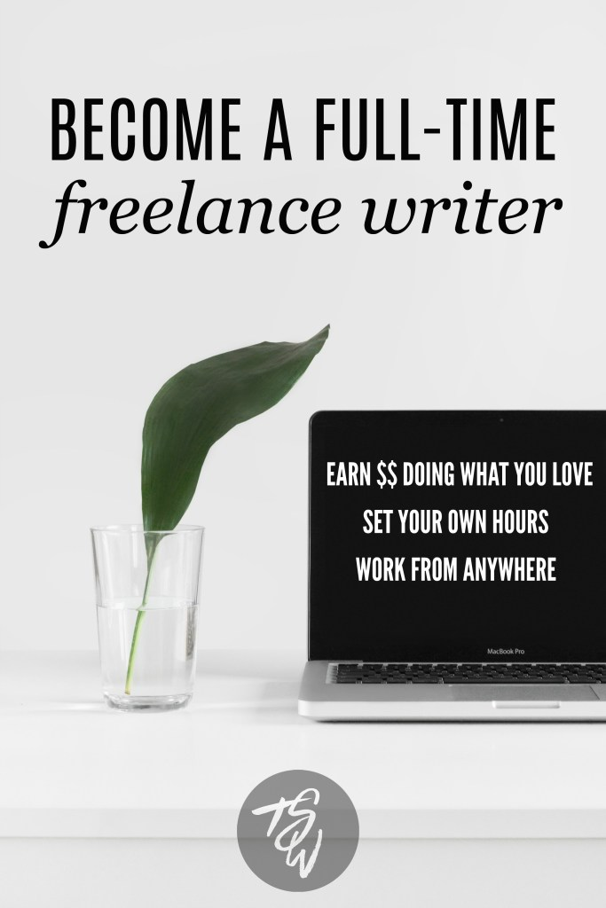 Become a full-time freelance writer with the Earn More Writing course by Holly Porter Johnson of ClubThrifty.com