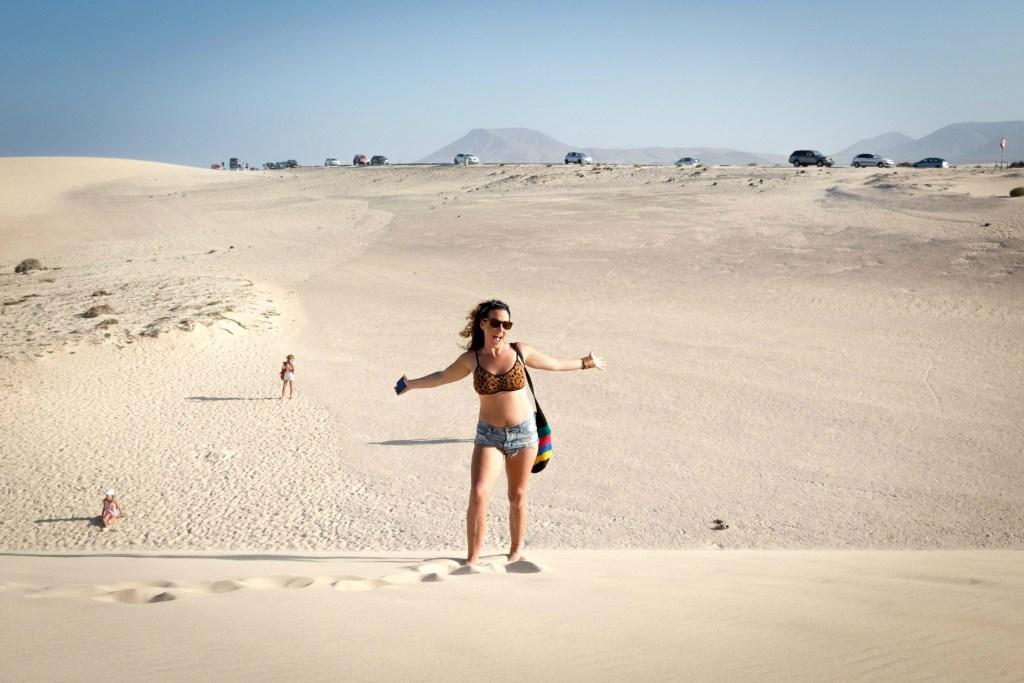 Top things to do in Fuerteventura, Spain: Visit the Corralejo Dunes!