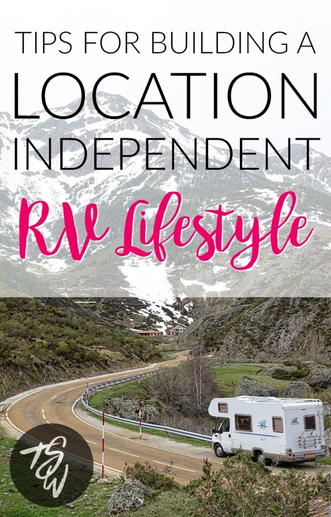 Learn how this professional blogger turned her passion for helping others into a career and built her dream location independent RV lifestyle!