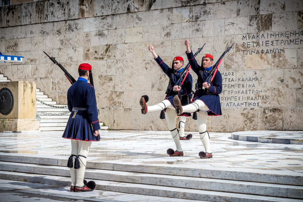 Changing of the Guards, Athens, Greece
