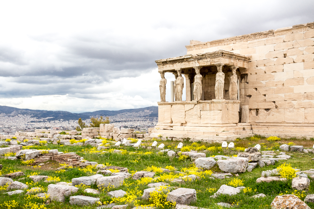 The Erechtion, Athens, Greece
