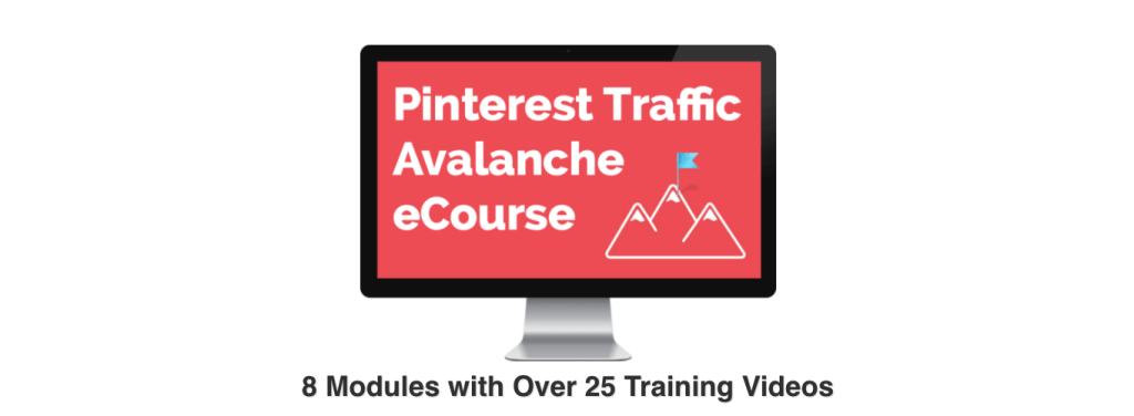 Pinterest Organic Traffic Avalanche: The Pinterest Course that helped me DOMINATE the Pinterest game