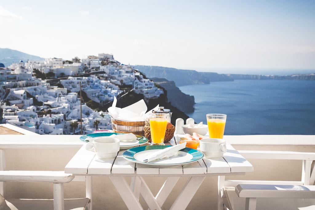 Blue Dolphins Apartments, Santorini, Greece