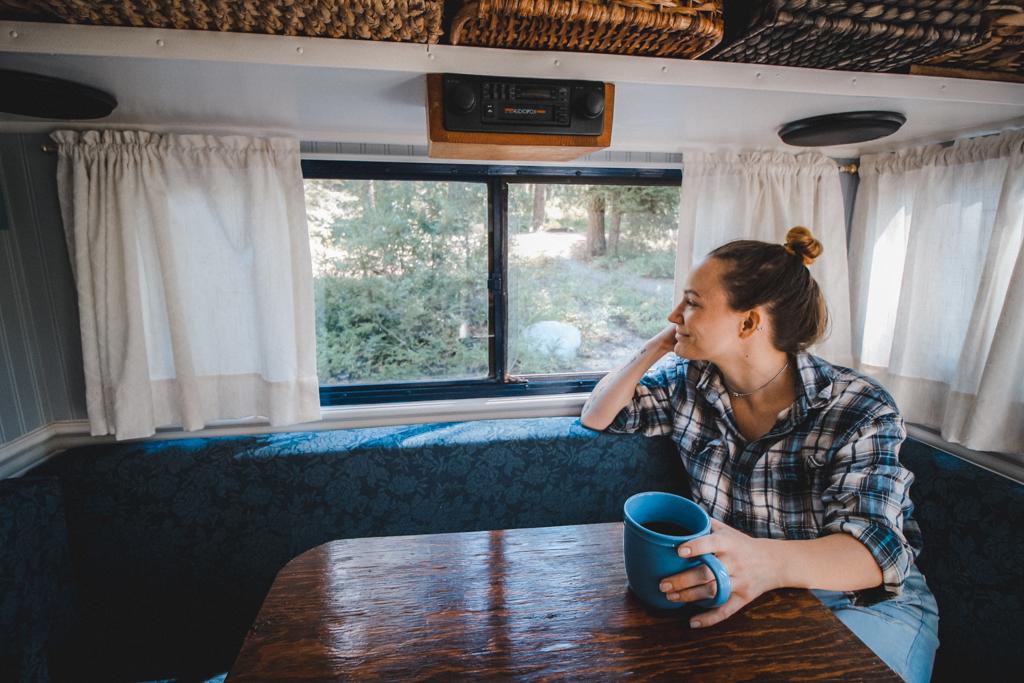 Camping in Mazama, Washington