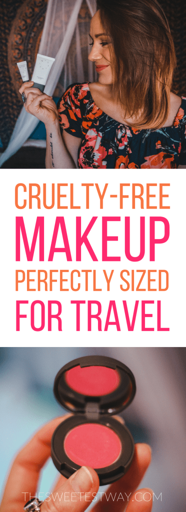 Travel sized makeup from Stowaway Cosmetics. They're also cruelty-free!
