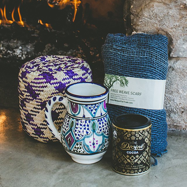 Global gift basket at Uncommon Goods