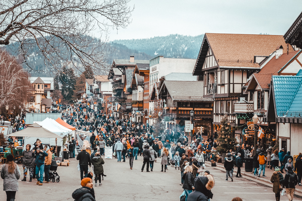 Add Leavenworth, Washington to your winter travel bucket list.