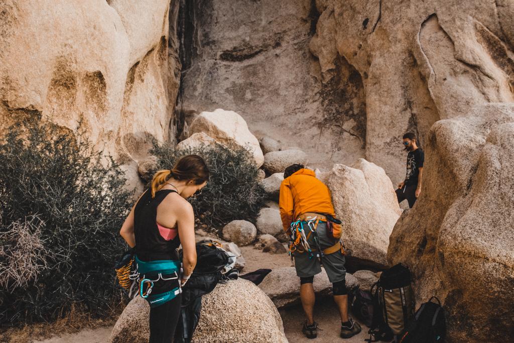 Joshua Tree Rock Climbing Retreat with The Mountain Bureau LLC