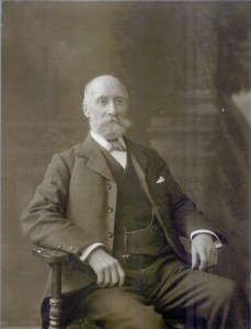 Alexander Sweet (1843 - 1921). Photograph by Charles Sweet (1864 - 1945), Rothesay.