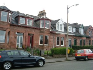 Peveril Avenue, Shawlands Where I was brought into the world.