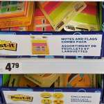 supplies, sticky notes, back to school
