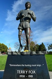 inspirational people, terry fox