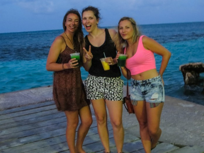 Girls on Caye Caulker