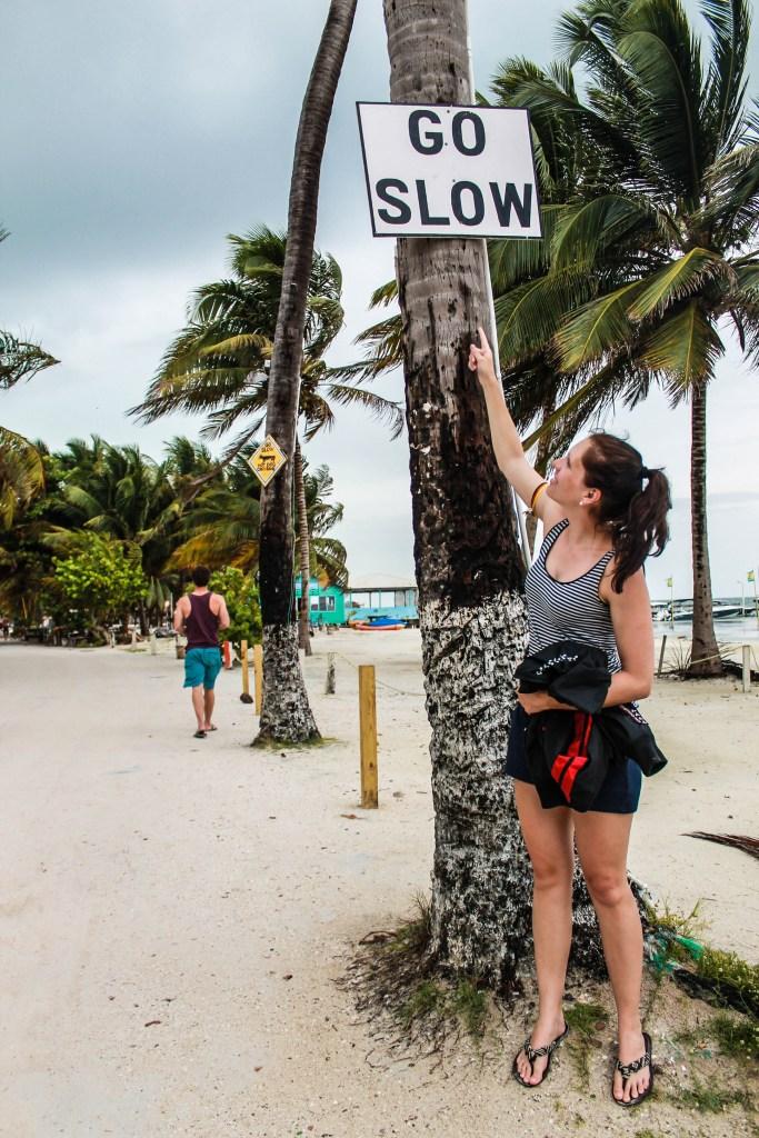 caye caulker go slow belize island life