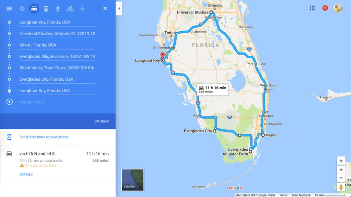 Florida road trip 2 weeks itinerary travel guide