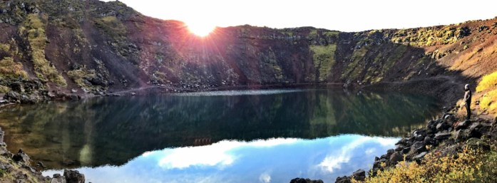 kerid crater lake iceland road trip golden circle tour travel blog