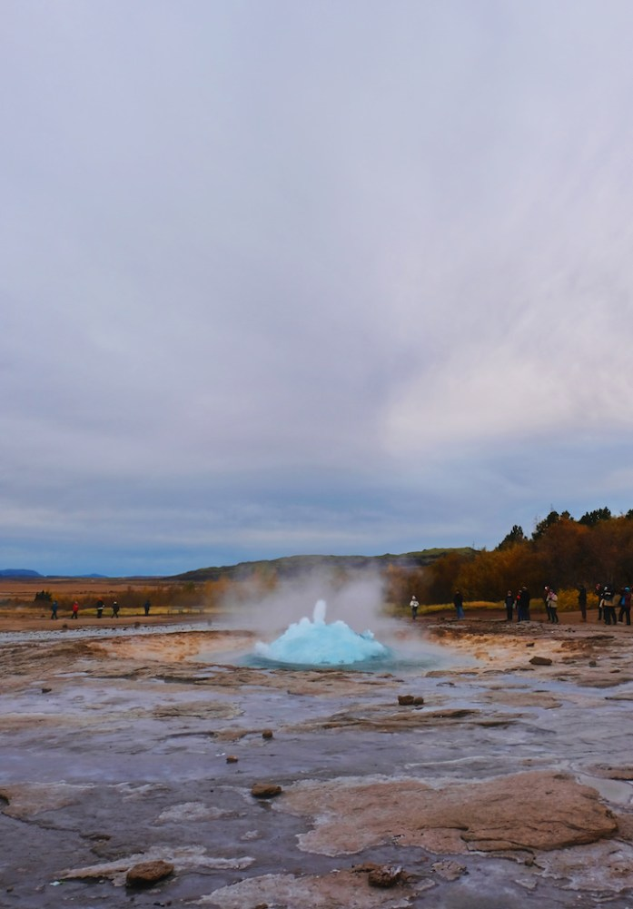 iceland road trip travel blog guide geysir