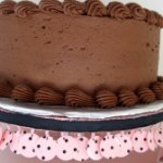 Kahlua Fudge Sour Cream Cake