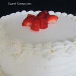 Elegant White Chocolate Cake