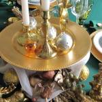 Green and Gold Table