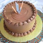 Butter Pecan Cake for The Cake Slice Bakers 5th Birthday