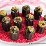 Chocolate Truffle Filled Cordial Cups