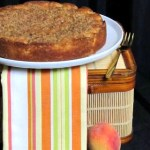 Golden Peach Cake ~ Cake Slice Bakers