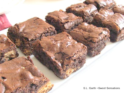 kit kat brownies 4