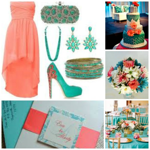 charisse coral teal board