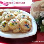 Cream Cheese Cookies ~ Fill the Cookie Jar