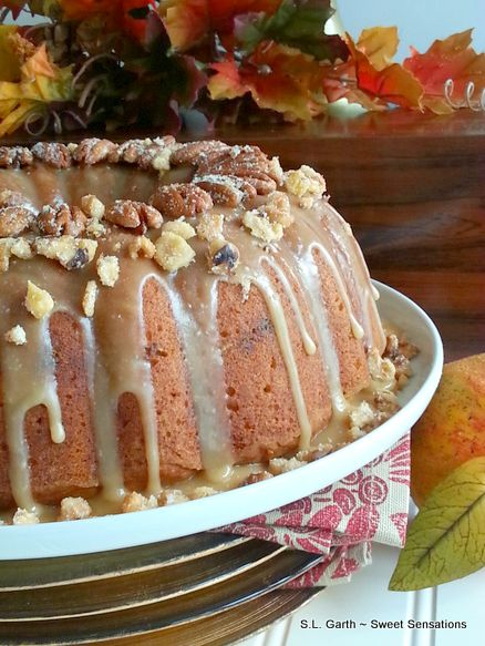 Cranberry Apple Bundt