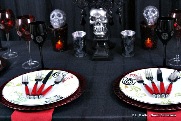 Adult Halloween Tablescape
