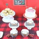 It's a Plaid Plaid World Dessert Table