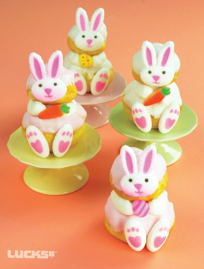 An Easter Dessert Table filled with bunny themed desserts is sure to satisfy the most discriminating sweet tooth.