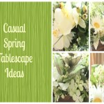 Casual Spring Tablescape Ideas