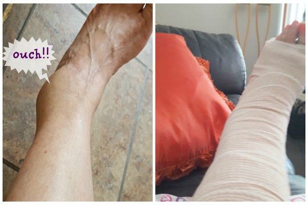 ankle collage