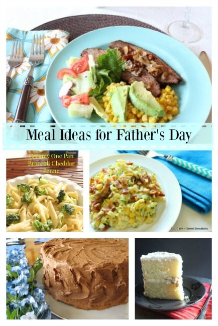 Father's Day Meal Collage