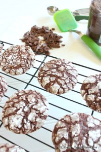 This Chocolate Crinkle Sandwich Cookie can easily be transformed a packaged mix into a decadent treat.