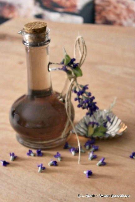 The subtle flavor of this Lavender Simple Syrup makes it great for cocktails as well as a glaze for desserts.
