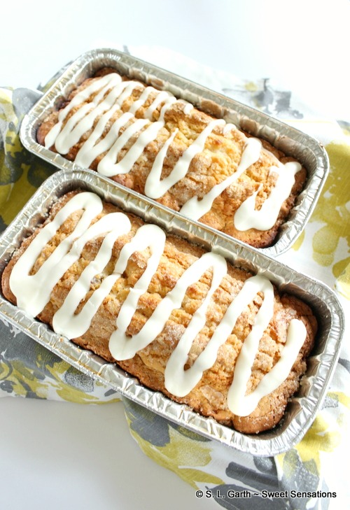 Gift your New Neighbors with a Personalized Doormat and Butter Pecan Ice Cream Bread.