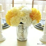 Combining Textures and Patterns in a Tablescape