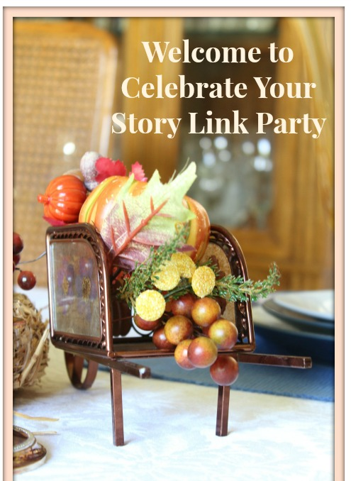 Celebrate Your Story Link Party, has started and we are happy that you decided to join us.