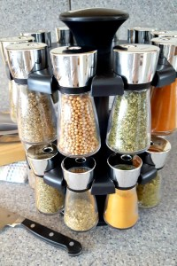 This Cole & Mason 20 Jar Spice Carousel is a sure fire way to liven up the healthy meals you've resolved to eat in the new year.
