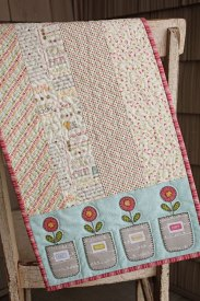 Spring Pots Table Runner
