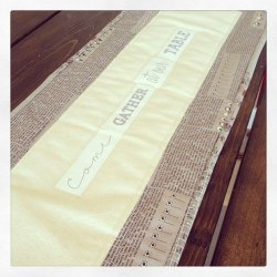 Come & Gather Table Runner