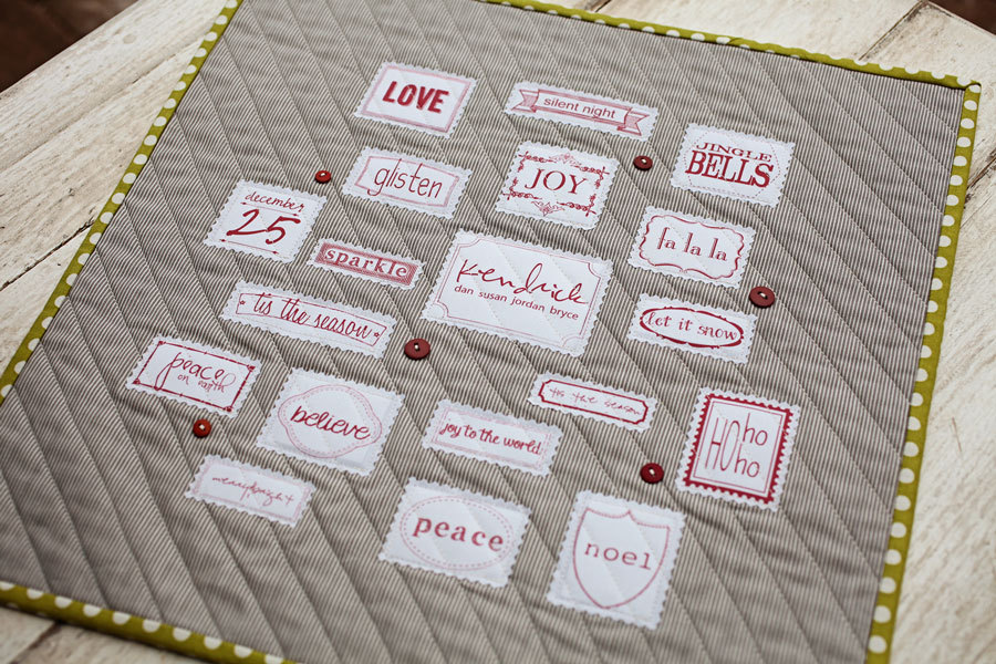 Family Christmas Mini Quilt Pattern Sweetwater