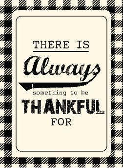 thankful label